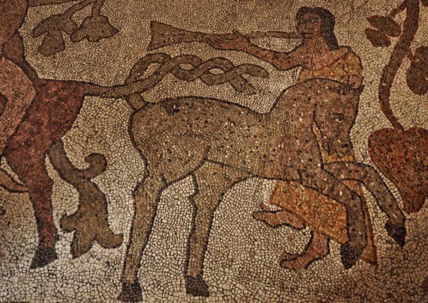 Mosaikfussboden von 1150 in der Kathedrale in Otranto